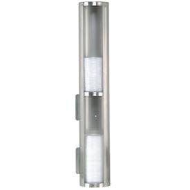 Dispense-Rite® Surface-Mount 2 Section Lid Dispenser