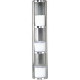 Dispense-Rite® Surface-Mount 3 Section Lid Dispenser