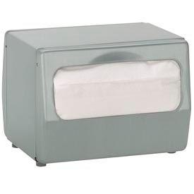 Dispense-Rite® Tabletop Full Fold Napkin Dispenser - 2 Sided