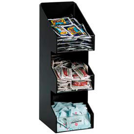 Dispense-Rite® Countertop Vertical 3 Section Lid/Condiment Organizer