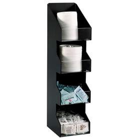 Dispense-Rite® Countertop Vertical 4 Section Lid/Condiment Organizer