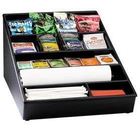 Dispense-Rite Countertop Lid, Straw & Condiment Organizer Wide by
