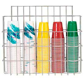 Dispense-Rite® Surface Mounted Wire Cup Caddy