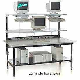 "Testing/LAN Station 72"" X 36"" Butcher Block Square Edge"