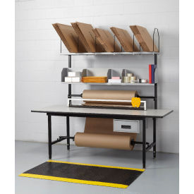 Full Function Packaging Bench, Plastic Laminate Top, T-Mold Edge - 83 x 33