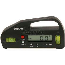 Digi-Pas® DWL-80E Pocket-Sized Digital Level