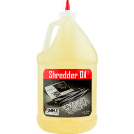 Dahle® 20722 Shredder Oil - (4) 1 Gallon Bottles