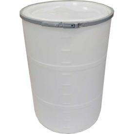 DPI™ - Diversified Plastics Inc. 55 Gallon Open Head Polyethylene Drum OH-55-00 - Natural