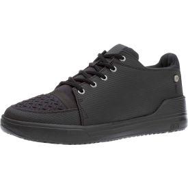 Mozo® 3835-BLK-08 - Men's Gallant Lace-Up Shoe, Synthetic, Black, Size 8