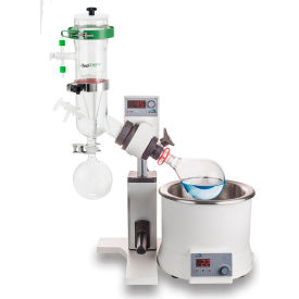 SCILOGEX RE100-S LED Rotary Evaporator, Vertical Dry-Ice Condenser, Manual Lift by