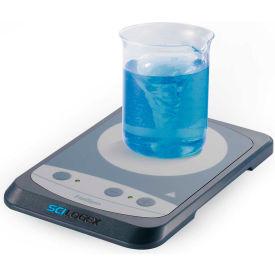 """SCILOGEX FlatSpin Analog Stirrer, 86352003, 3.5"""" Plate Diameter, 15-1500 RPM, 100-240V, 50/60Hz"""