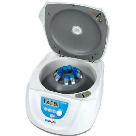 SCILOGEX DM0412 LCD Digital Clinical Centrifuge, 8-Place Rotor, 110-240V, 50/60Hz by