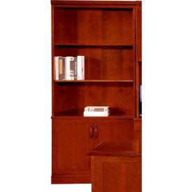 "Flexsteel Bookcase - 36""W x 15""D x 80""H - Brown Cherry - Belmont Series"