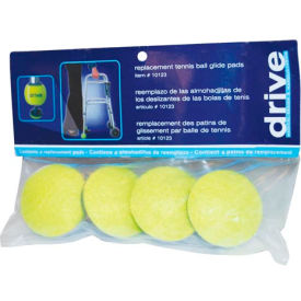 Replacement Tennis Ball Glide Pads for Drive Medical Tennis Ball Glides, Pack of 4