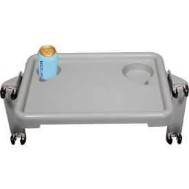 "Drive Medical 10125 Walker Tray with Two Cup Holders, 16""W x 12""D x 2""H"