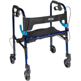 "Deluxe Clever Lite Rollator Walker with 5"" Casters, Adult"