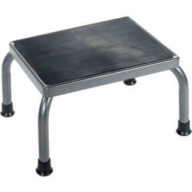 Drive Medical Step Stool - Non-Skid Rubber Footstool Platform 13030-1SV