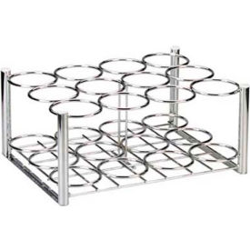 Chrome Oxygen Cylinder Rack, For Use with 12 M6 Cylinders
