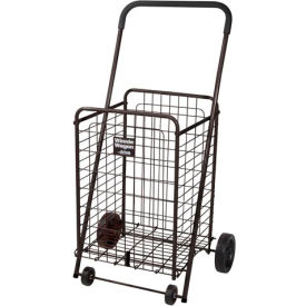 Winnie Wagon All Purpose Shopping Utility Cart, Black