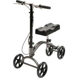 Drive Medical 790 Steerable Aluminum Knee Walker, Adult Size