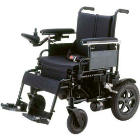 "Drive Medical CPN22FBA Cirrus Plus EC Folding Power Wheelchair, 22"" Sling Seat"