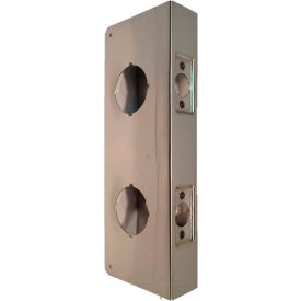 """Don Jo 256-CW-10B Wrap Around For Dbl Lock Combo Locksets, 4""""x12"""", Oil Rubbed Bronze"""