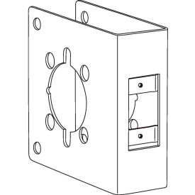 Don Jo 4U-2-CW-S Wrap Around For Converting Unit Locks to Lever Locks, Stainless Steel