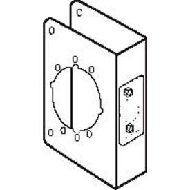 Don Jo 81-2-CW-S Wrap Around For Use W/Heavy Duty Grade 1 & 2, Stainless Steel