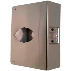 Don Jo 81-CW-PB Wrap Around For Use W/Cylindrical Door Locks, Polish Brass - Pkg Qty 10