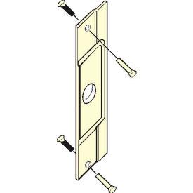"Don Jo AL 211-SL Latch Protector For AL Entrance Doors, 3-1/2""x12"", Silver Coated - Pkg Qty 10"