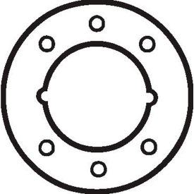 Don Jo AR 335-613 Hole Filler Plates, Use W/ Schlage, Yale, Arrow, Corbin-Russwin, Cal-Royal, Hager Package... by