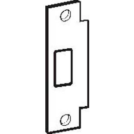 "Don Jo BFD-2-630, ANSI Strike Deadbolt For Hollow Metal Frame, 4-7/8""x1-1/4"", Stainless Steel - Pkg Qty 10"