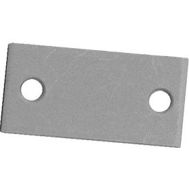 """Don Jo EF 161 TG-CP Filler Plate, 2-1/4""""x1-1/8"""", Chrome Plated - Pkg Qty 10"""