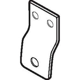 Don Jo TB 215 Tab, 1Lx1-1/2W, 1/8Offset, Steel - Pkg Qty 10