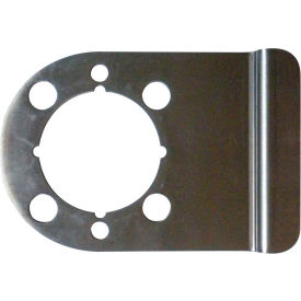 """Don Jo WSLP-104-630 Latch Protector, 5""""x4"""", Stainless Steel - Pkg Qty 10"""