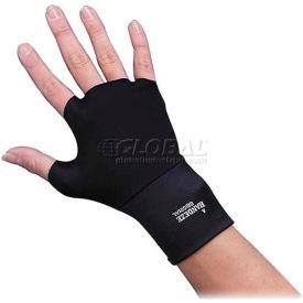 Dome® Ergonomic Therapeutic Support Gloves, 3704, Medium Size, Black