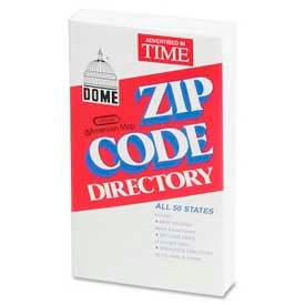 Dome® Zip Code Directory, Abridged Pocket Edition, 1 Each