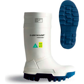 Dunlop® Purofort® Thermo+ Full Safety Men's Work Boots, Size 14, White