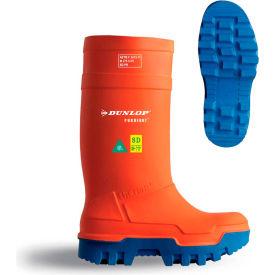 Dunlop® Purofort® Thermo+ Full Safety Men's Work Boots, Size 8, Orange