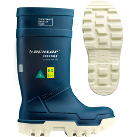 Dunlop® Purofort® Thermo+ Full Safety Men's Work Boots, Size 10, Blue