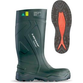 Dunlop® Purofort+® Full Safety Men's Work Boots, Size 3, Green