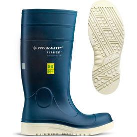 Dunlop® Purofort® Comfort Grip Men's Work Boots, Size 5, Blue