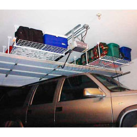 48W x 48D Height Adjustable 16-28 Heavy Duty Ceiling Mounted Shelf Storage System