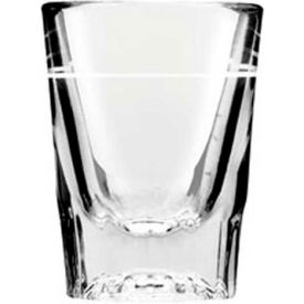 "Anchor Hocking 5282/928U Line Whiskey Shot Glass, 2Oz., 2-7/8"" x 2-1/4"", 48/Case by"