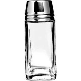 Anchor hocking 80570 salt pepper shaker w metal lid 2 oz 4 1 4 x 2 1 8 24 case - Salt and pepper shaker display case ...