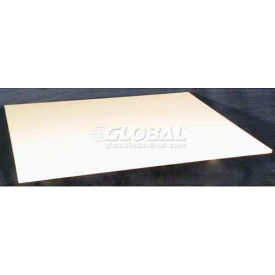 "48""L x 30""W x 3/4""H Replacement Poly Table Top"
