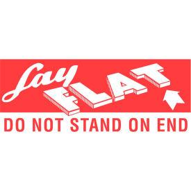"Lay Flat 2"" x 5"" - White / Red"