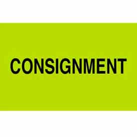 "Consignment 3"" x 5"" - Fluorescent Green / Black"