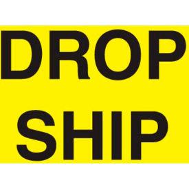 "Drop Ship 3"" x 5"" - Bright Yellow / Black"