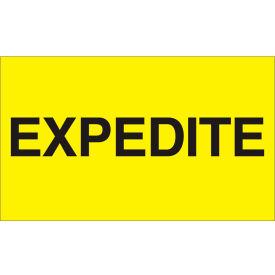 "Expedite 3"" x 5"" - Bright Yellow / Black"